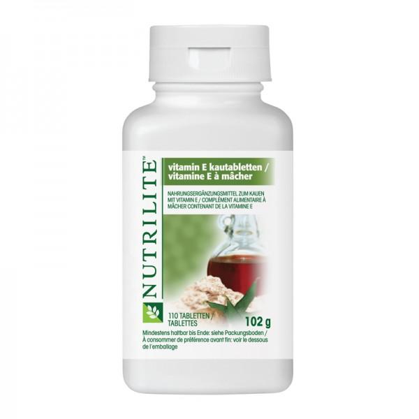 Vitamin E Kautabletten