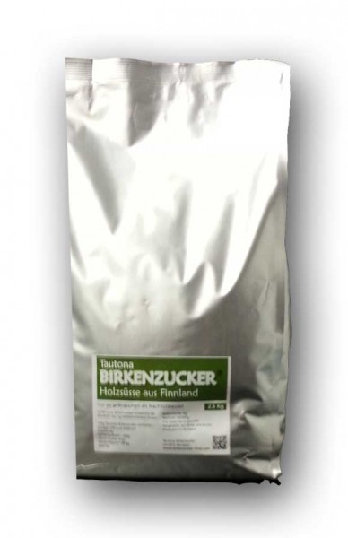 2.5 kg Birkenzucker NACHFÜLLBEUTEL