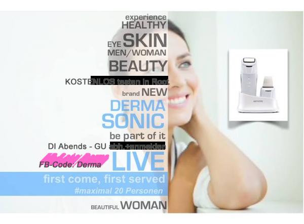 DermaSonic Testen live