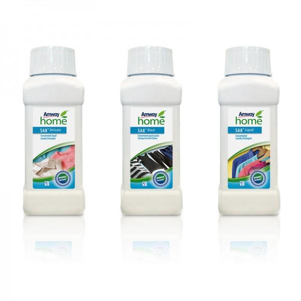Waschmittelprodukte SA8™ im Mini-Format