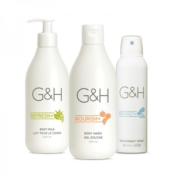 Beruhigendes Körperpflege-Set - G&H