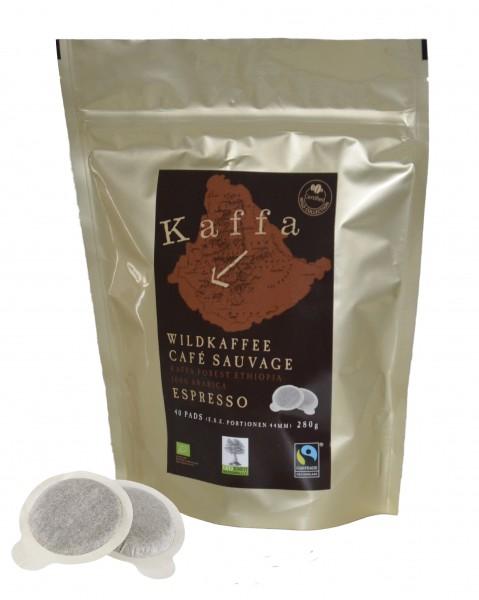 Kaffa Wildkaffee Espresso 40 E.S.E. Pads