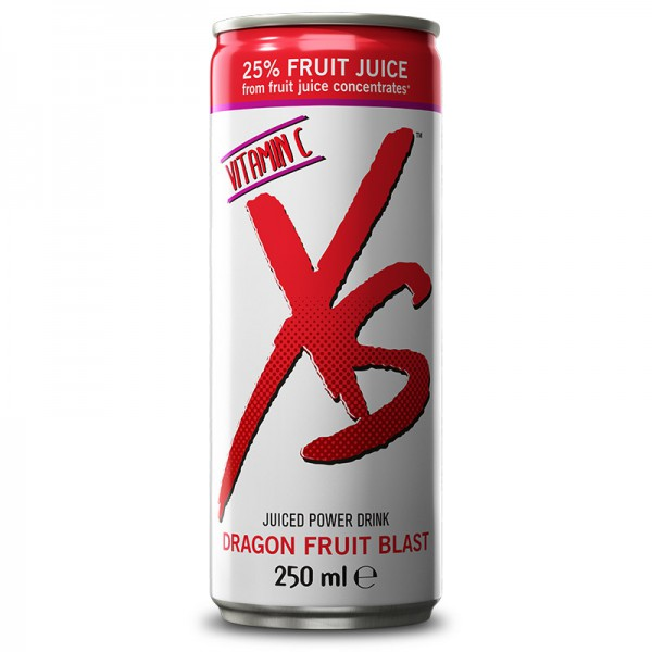 Juiced Power Drink Dragon Fruit Blast XS